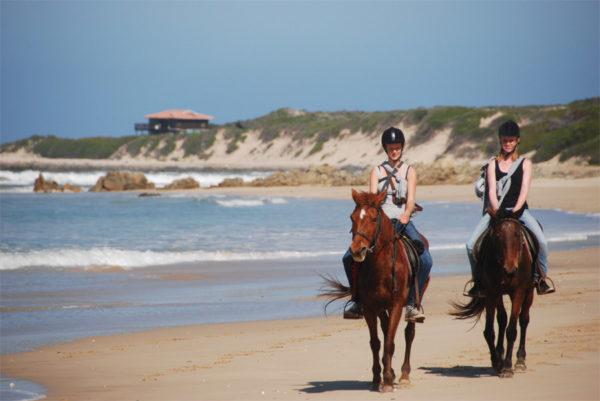 Beach Horse riding