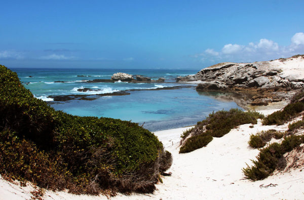 Coast line of De Hoop Nature reserve