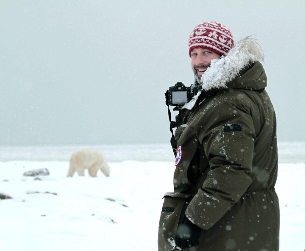 CM Travels | Man with Polar Bear
