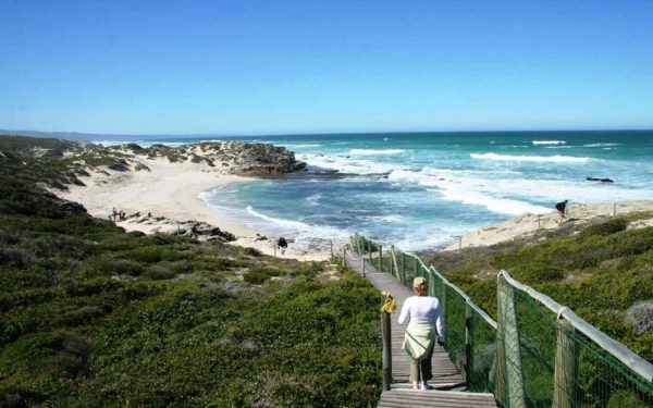 Beautiful cove in De hoop Game reserve