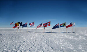 cm-travels-antartica-wildlife-nature-white-desert-camp-emperor-penguins-ulitmate-luxury-private-south-pole-flags