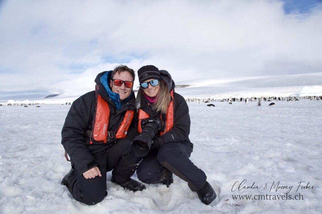 antarctica-cmtravels-co-founders-polar-wildlife-travel